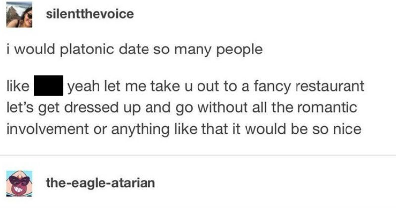 """A quick and entertaining post on what romantic friendships look like 