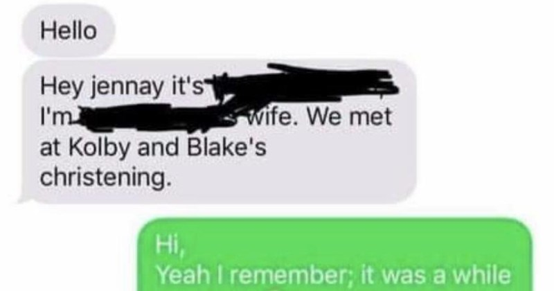 Karen mom expects friend to change dog's name | Hello Hey jennay 's at Kolby and Blake's christening. wife met Hi, Yeah remember while ago now are and family?