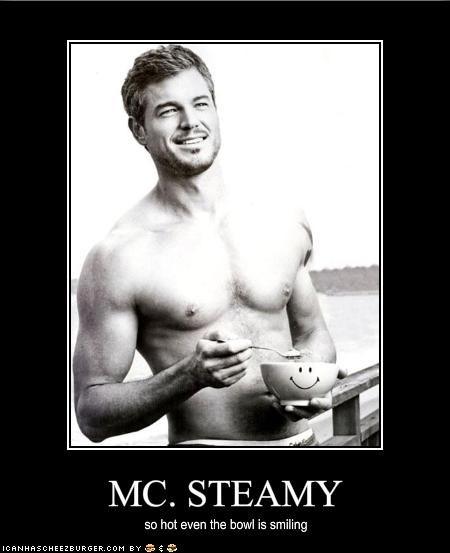 Juicy steamy males