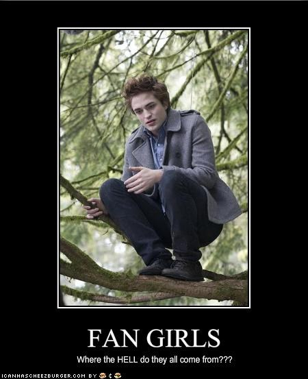fangirls robert pattinson twilight