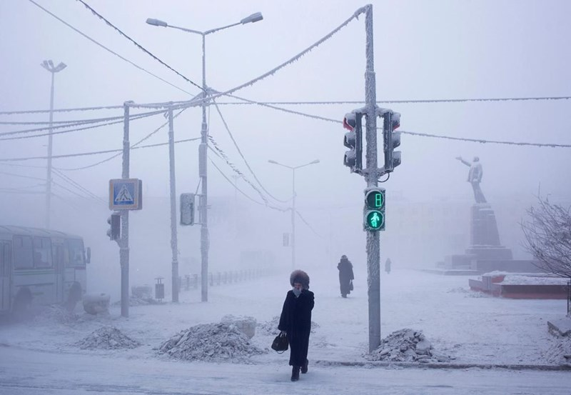 Oymyakon: the coldest inhabited town on earth