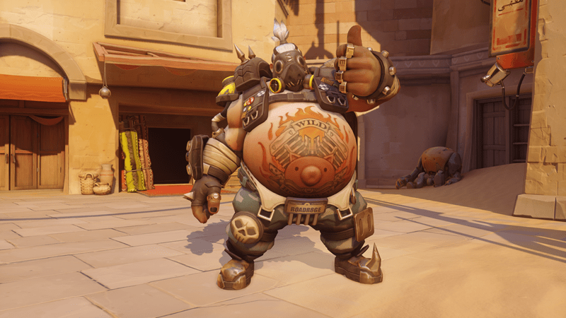 overwatch roadhog Nerf - 1320453
