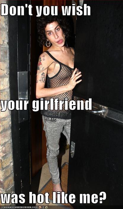 do you wish your girlfriend was hot like me