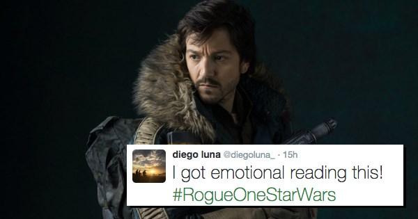 star wars rogue one Diego Luna - 1321477