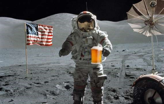 heaps of astronauts bring alcohol into space