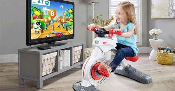 fisher price exercise bikes for kids