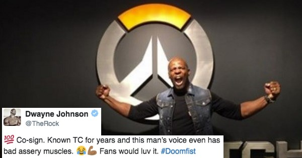overwatch doomfist terry crews - 1328389