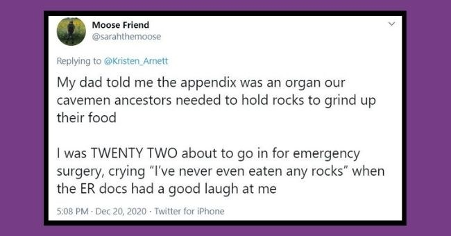 """people share their bizarre childhood beliefs 