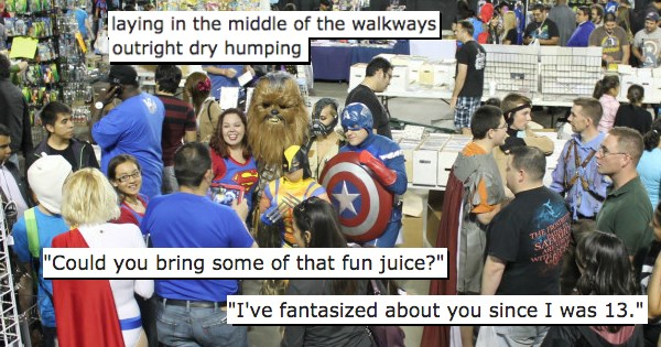 comicon and cosplay stories