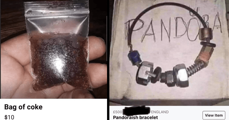 Funny and cringey and cursed stuff people tried to sell on Craigslist and Facebook Marketplace