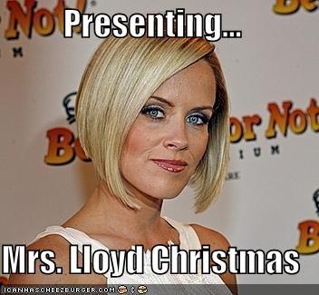Lloyd Christmas Memes.Presenting Mrs Lloyd Christmas Cheezburger Funny
