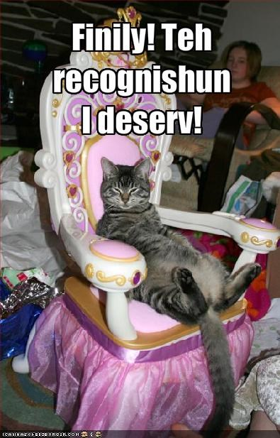 chair lolcats princess royal - 1353706240