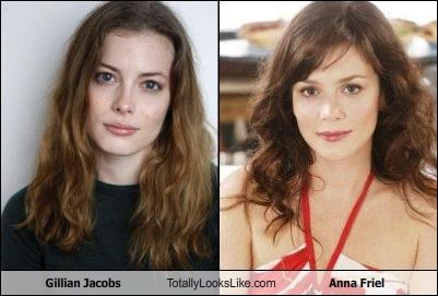 Many anna friel look alike variants.... can