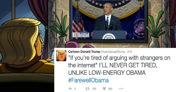 twitter,obama,donald trump,president,election 2016,live tweet,cartoons,ridiculous,politics