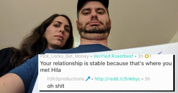 h3h3 art of trolling roast me roast ethan and hila - 1365765