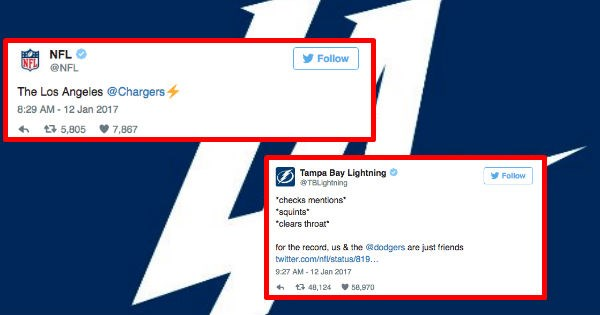 tampa bay twitter roasting nfl hockey NHL reactions funny - 1366021
