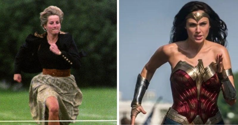 the conspiracy of princess Diana and wonder woman | thumbnail text - BOTH Diana Prince and Princess Diana are the same gender! Sure, lots of people in the world are women. This could be circumstantial. But doesn't it seem just a little too convenient?