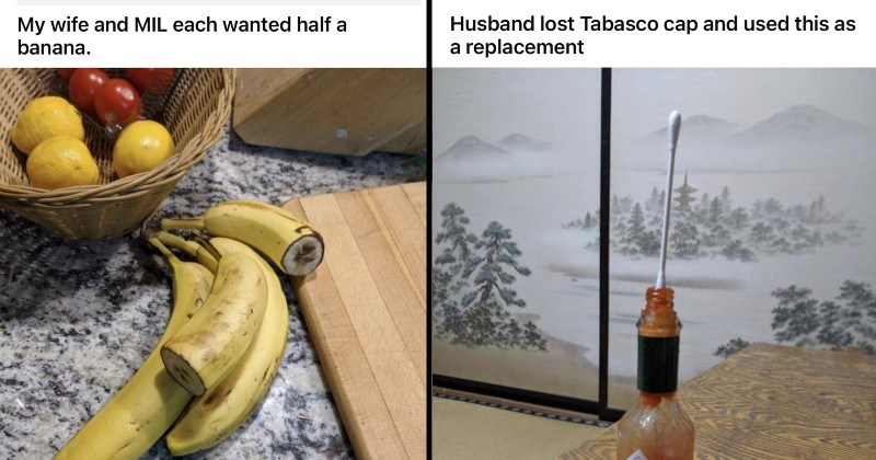 pictures of horribly annoying habits spouses have
