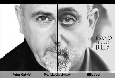 Peter Gabriel Totally Looks Like Billy Joel Cheezburger Funny