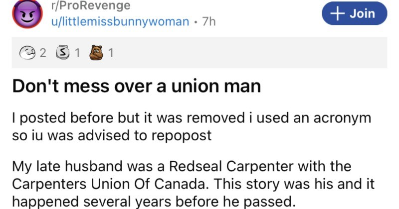 A greedy company man tries to screw over a union and it backfires terribly.