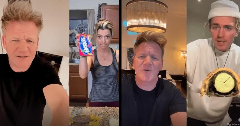 Gordon Ramsay roasts cooking TikToks, funny, lol, fail