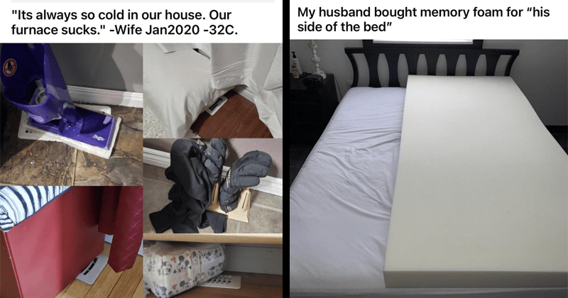 Funny and annoying things that spouses do, marriage, lol, habits, flaws
