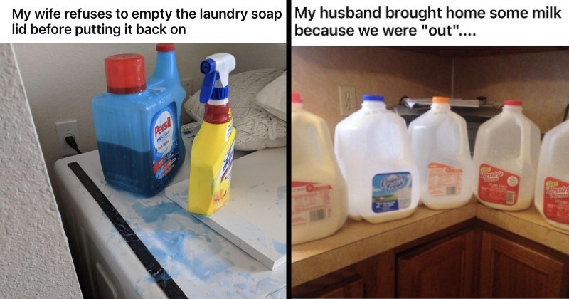frustrating and annoying habits of people's spouses