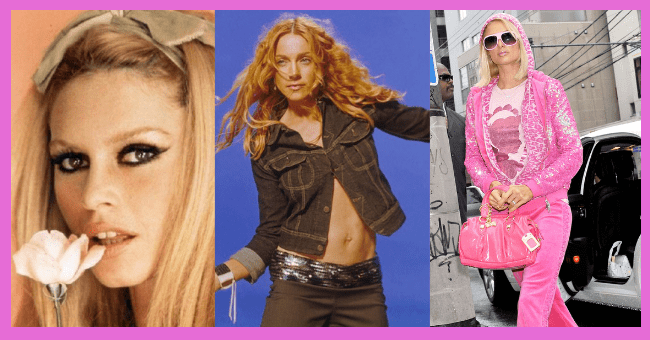 Twelve Female Fashion Icons Who Started The Trends We All Know And Love| thumbnail text - Madonna Low-Rise Jeans Paris Hilton 3400-3685 南青山 5-4 Velour Tracksuits