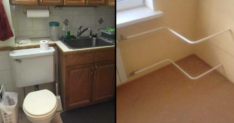 bad construction, stupid installation and DIY fails