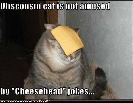 Cheesehead jokes