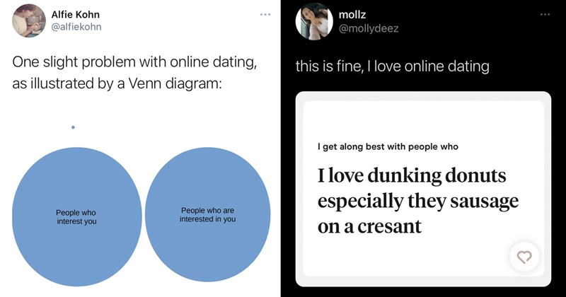funny memes, funny tweets, twitter memes, funny screenshots, funny texts, online dating, bumble, funny tinder, tinder, hinge, relationships, dating, relatable