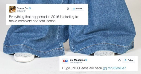 jeans,twitter,jnco,clothes