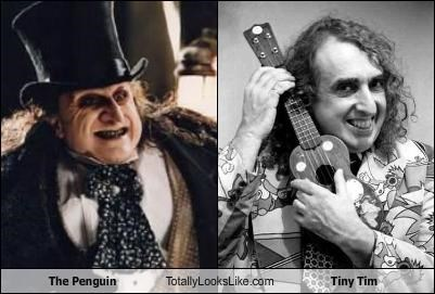 batman,The Penguin,tiny tim