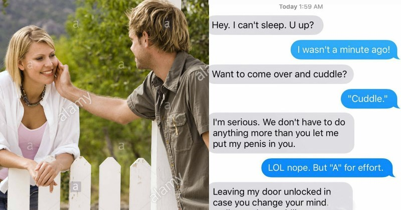 text messages with your neighbors that irritate you