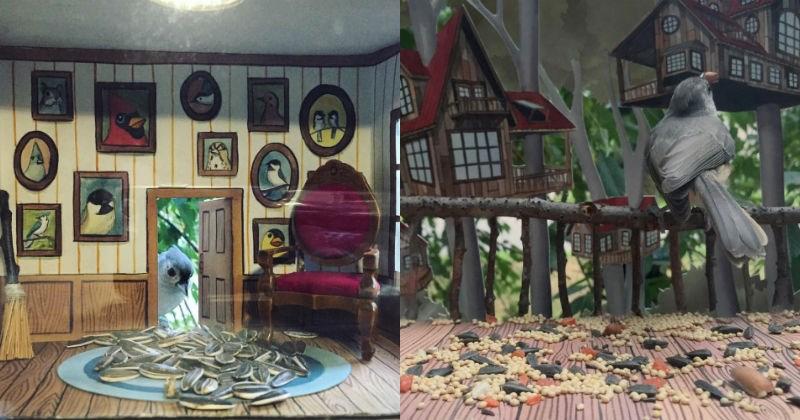 birds house crafts DIY creative - 1390853