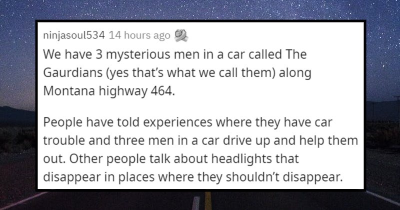 creepy urban legends from different places