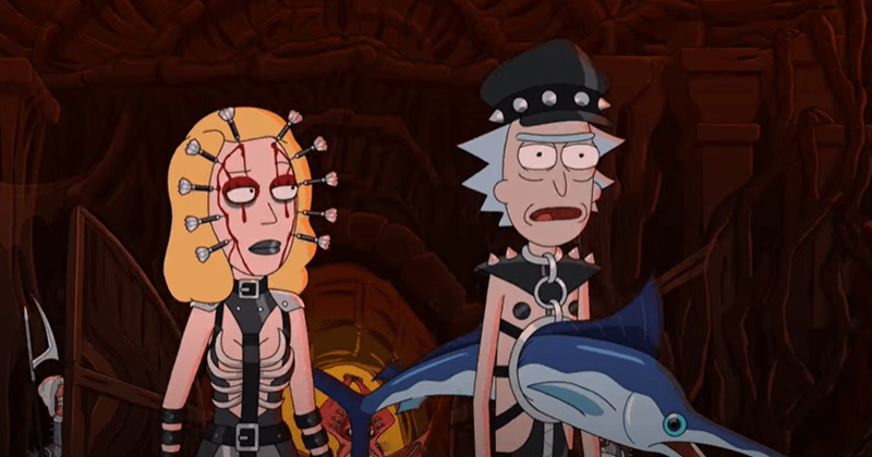 Funny trailer for Season 5 of Rick And Morty on Cartoon Network, pickle rick, adult swim