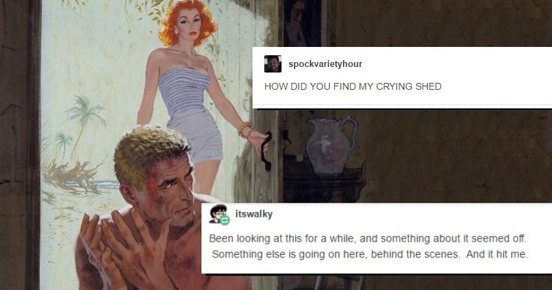 tumblr mystery funny - 1394949