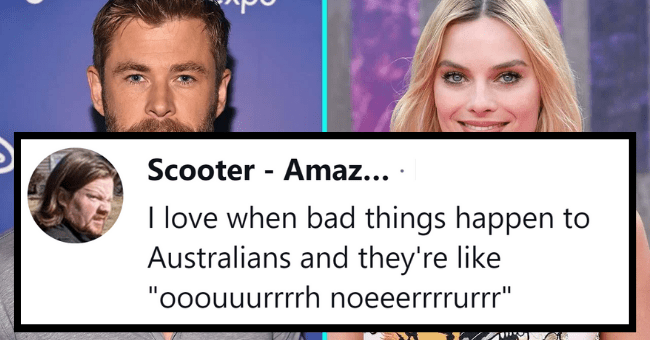 "13 Reasons Why People Are Obsessed With Australians And Their Culture| thumbnail text - Scooter - Amaz... · Nov 23, 2020 •.. I love when bad things happen to Australians and they're like ""ooouuurrrrh noeeerrrrurrr"" 1"
