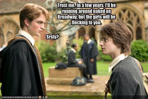 Daniel Radcliffe Harry Potter robert pattinson sci fi sexy Brits - 1396113152