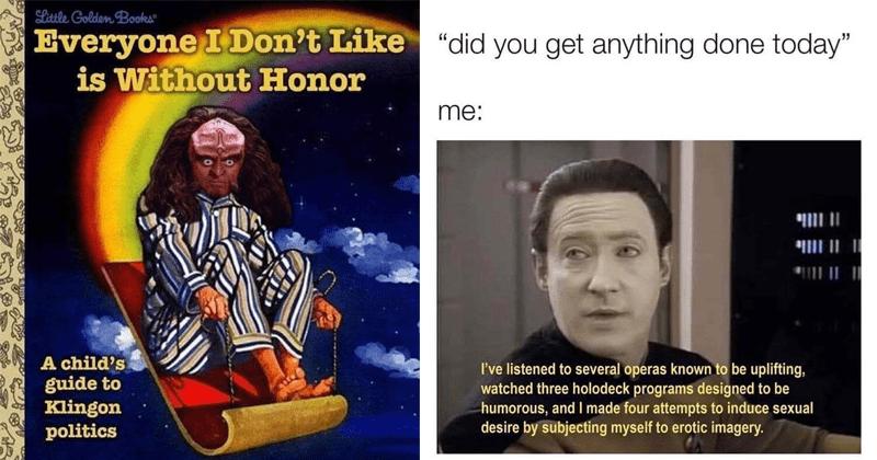 Funny star trek memes