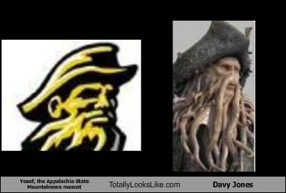 davy jones disney Pirates of the Caribbean Yosef