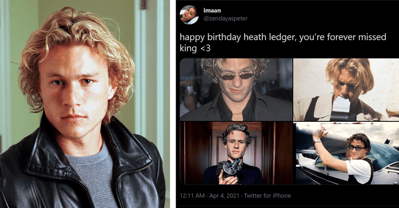 twitter remembers heath ledger on his birthday