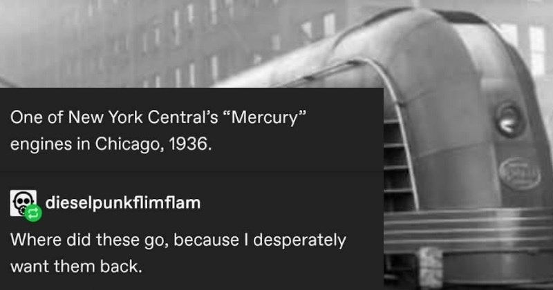 Tumblr user provides a humorous twist on the Mercury train.