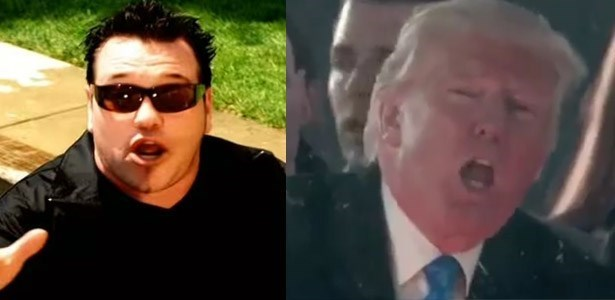 Imagini amuzante si haioase - Future Person of the Year Remixed Trump\'s Inauguration Concert to Include Smash Mouth and I Can\'t Stop Watching It