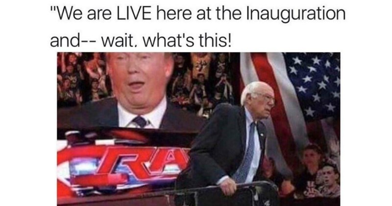 list bernie sanders trump meme list politics - 1404933