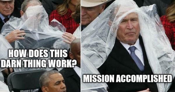 george w bush funny George Bush politics win photoshop battle election 2016 - 1405701