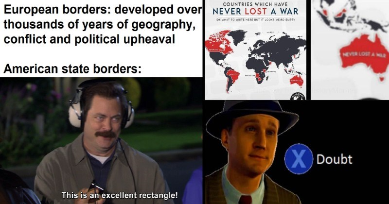 funny history memes, jokes and references