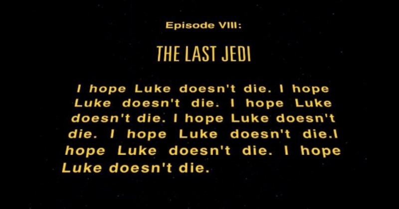 Star Wars Episode VIII Will Be Titled 'the Last Jedi' and People Are Apprehensive About ItStar Wars Episode VIII Will Be Titled 'the Last Jedi' and People Are Apprehensive About the Implications