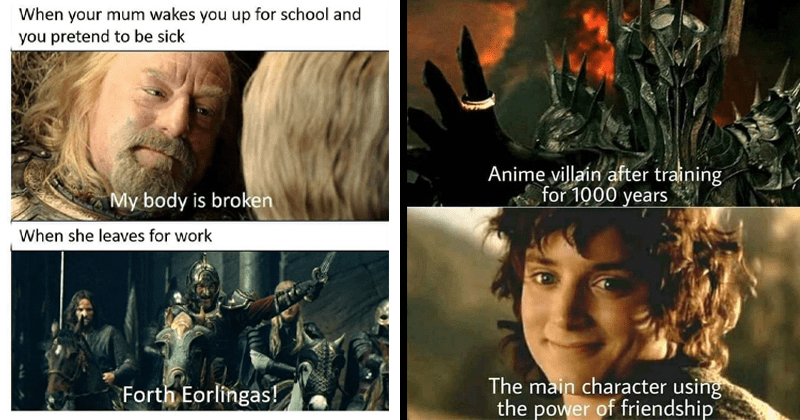 Funny memes, dank memes, lord of the rings, tolkien tuesday, stupid memes